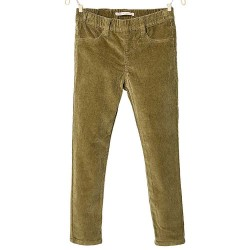 ZARA grey corduroy leggings