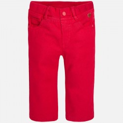 MAYORAL claret trousers