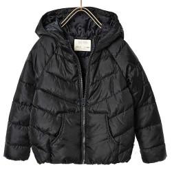 ZARA sötétszürke vékony bélelt kabát