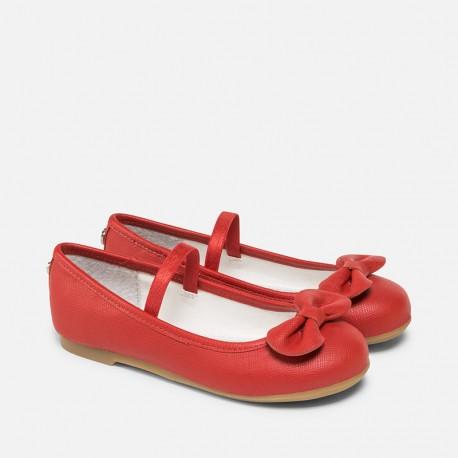 ffa797faf6 Mayoral piros balerína cipő