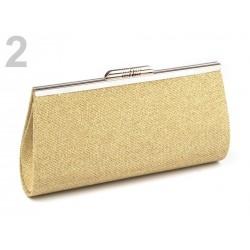 Csillogó arany elegáns női táska