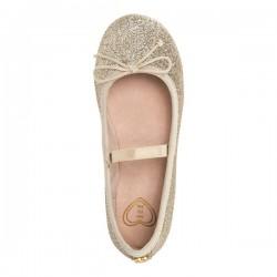 Mayoral arany csillogó balerína cipő