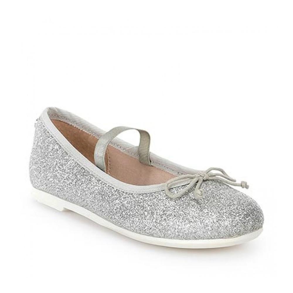 79f11dc3f4 Mayoral ezüst csillogó balerína cipő