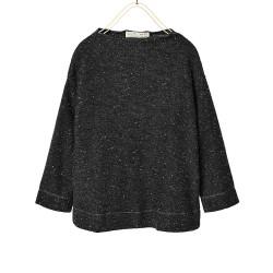 ZARA magasított nyakú szürke pulóver