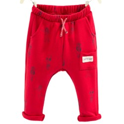 ZARA red pants with girls