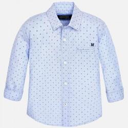 Mayoral BABY kék apró mintás ing