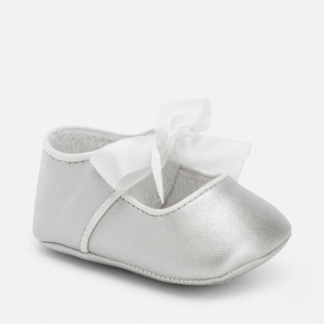 Mayoral ezüstszürke masnis BABY cipő