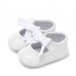 Mayoral fehér masnis BABY cipő