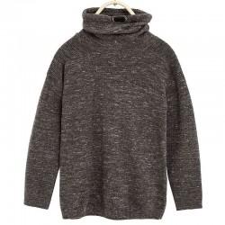 ZARA koponyás szürke pulóver