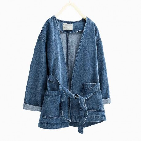 52babced27 ZARA jeans spring jacket