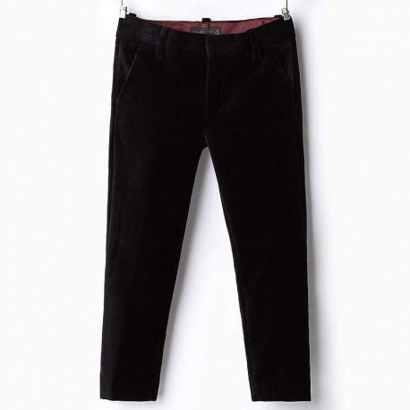 ZARA fekete bársony öltöny nadrág c2186d0fe7