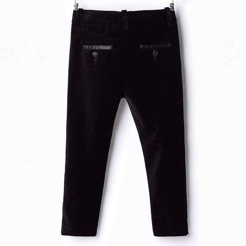 d6cebfd892 ZARA fekete bársony öltönynadrág · ZARA fekete bársony öltönynadrág ...