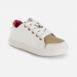Mayoral arany csillogó cipő