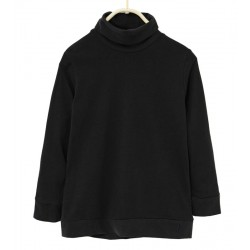 ZARA black Long Sleeve T-Shirt