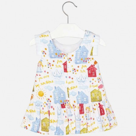 Mayoral dress with kids drawings