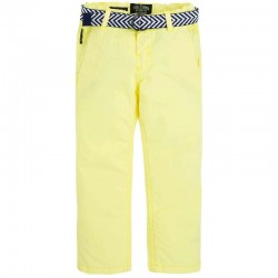 Mayoral yellow trousers