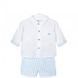 Mayoral fehér ing + elegáns nadrág