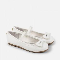 Mayoral fehér masnis cipő