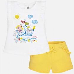 Mayoral gyerekrajzos trikó + rövidnadrág