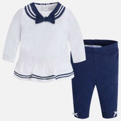 Mayoral galléros blúz + leggings