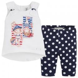 Mayoral napozós kislányos trikó + leggings