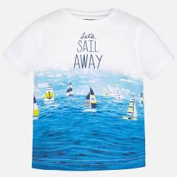 Mayoral póló - vitorlás hajókkal