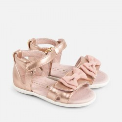 Mayoral gold sandals