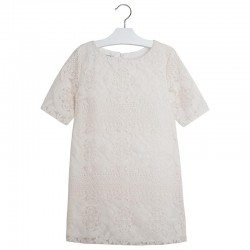 Mayoral  fehér csipkés ruha