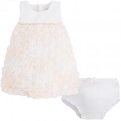 Mayoral fehér virágos ruha