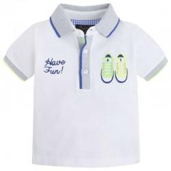 Mayoral fehér cipős póló