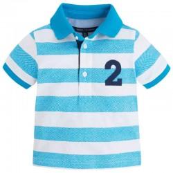 Mayoral kék-fehér piké póló