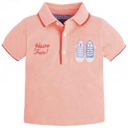 Mayoral rózsaszín piké póló