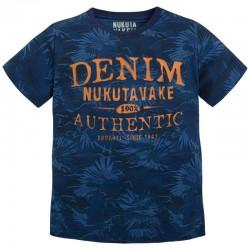 Mayoral/Nukutavake kék mintás póló