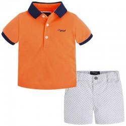 Mayoral piké póló + repülő mintás nadrág