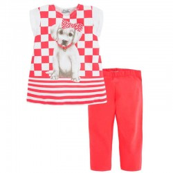 Mayoral kutyusos ruha + leggings