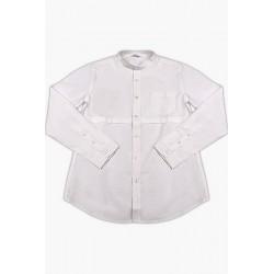 Street Gang fehér ing elöl varrással