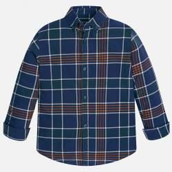 Mayoral kék kockás ing