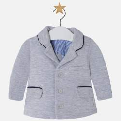 Mayoral BABY grey suit