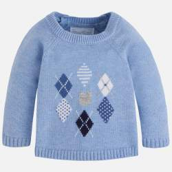 Mayoral BABY világoskék pulóver