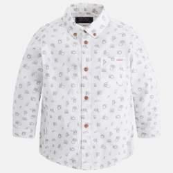 Mayoral fehér apró mintás ing