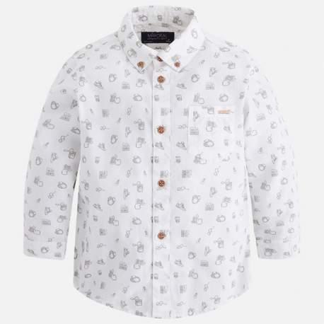 b0a71f3d21 Mayoral fehér apró mintás ing
