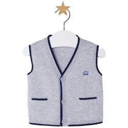 Mayoral blue-grey vest