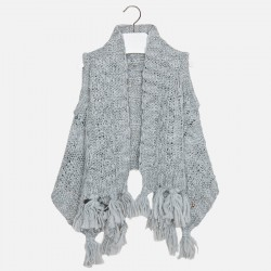 Mayoral grey knitted vest