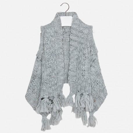 Mayoral grey knitted vest