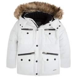 Mayoral kapucnis fehér dzseki