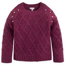 Mayoral díszes kötött pulóver