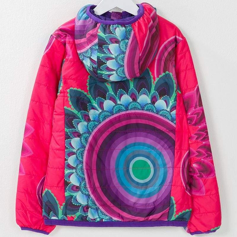 1118ab52f8e Desigual reversible coat