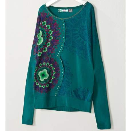 Desigual blouse with flowers