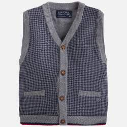 Mayoral beige knitted vest