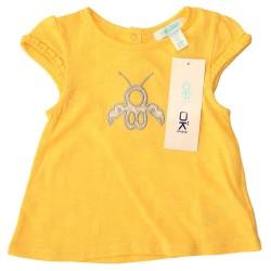 Obaibi citromsárga hímzett póló ed1fcadb2d